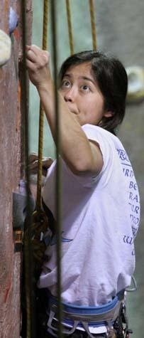 Edgeworks Climber Julie Mangrum