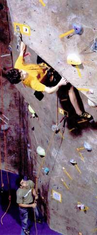 Climbing Team Member Max Beers