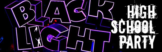 High School Blacklight Party